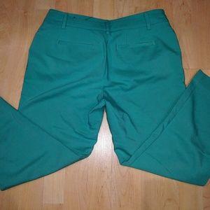 Apt 9 Turquoise Capris